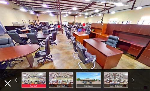 baton rouge furniture showroom virtual tour
